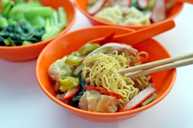 Penang's Wanton Mee has an old-school style that I miss