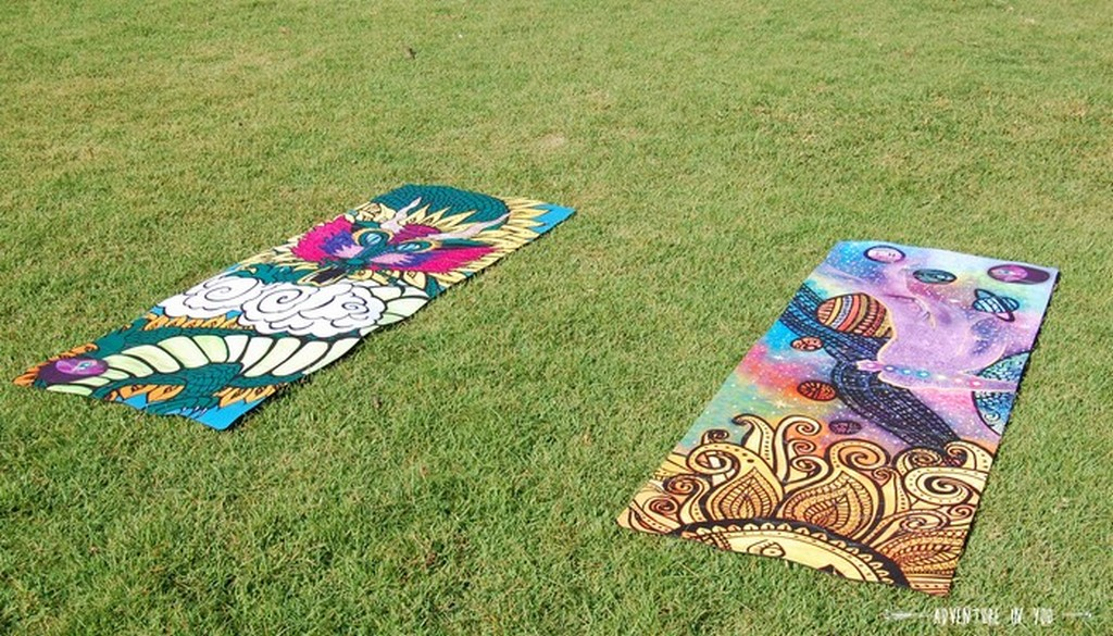 Our beautiful yoga mats from diwatauniversal.com_source: advanture in you