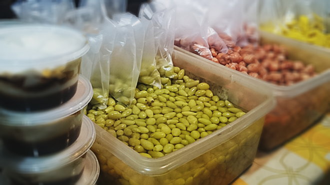 Pickled grapes Langkawi Night Market