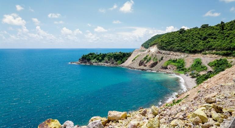 Purely natural scene of Nam Du islands