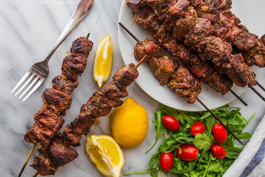 SOUVLAKI-greek dish