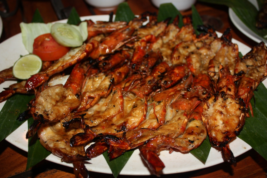 Seafood BBQ at Jimbaran Bay