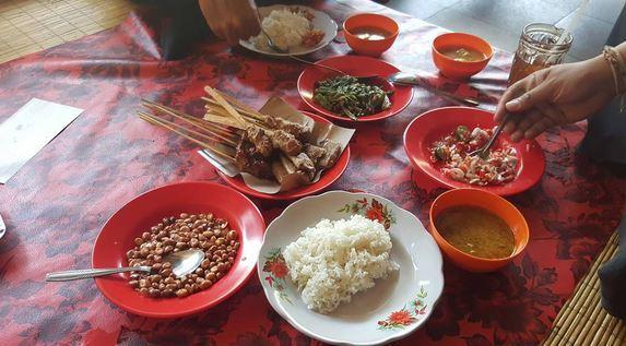 Bali food - Satay Lilit Ikan