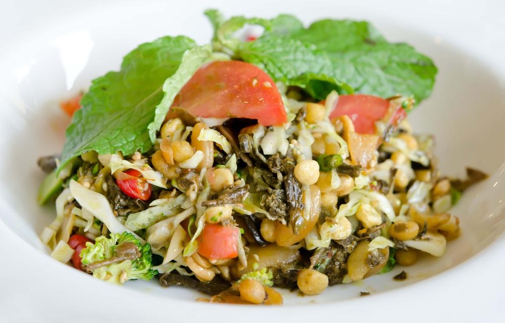 Famous tea leaf salad in Myanmar Photo: sanctum-inle-resort