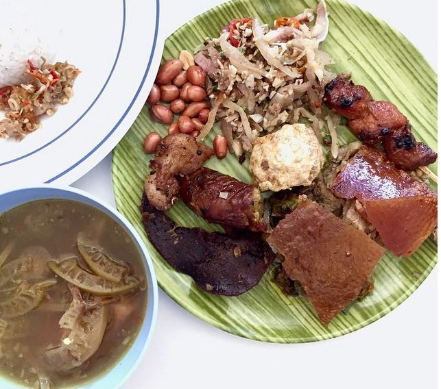 Bali food - Suckling Pig
