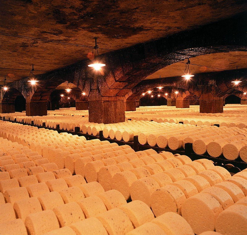 The Cheese Caves of Roquefort.