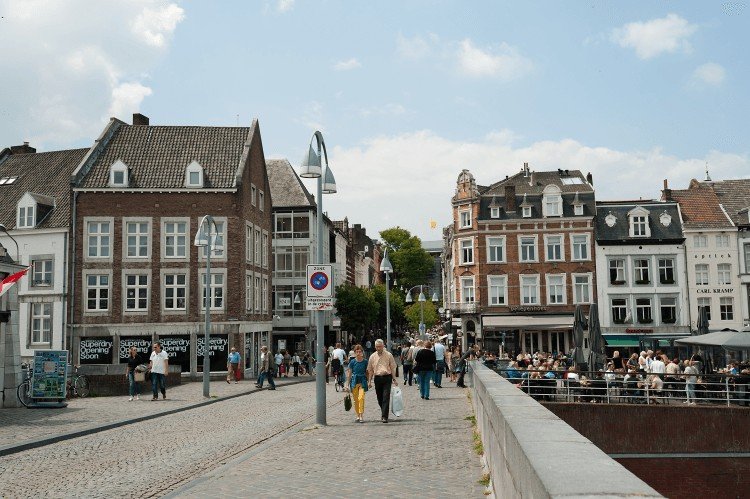 The Hague is where the government sits along with several international courts