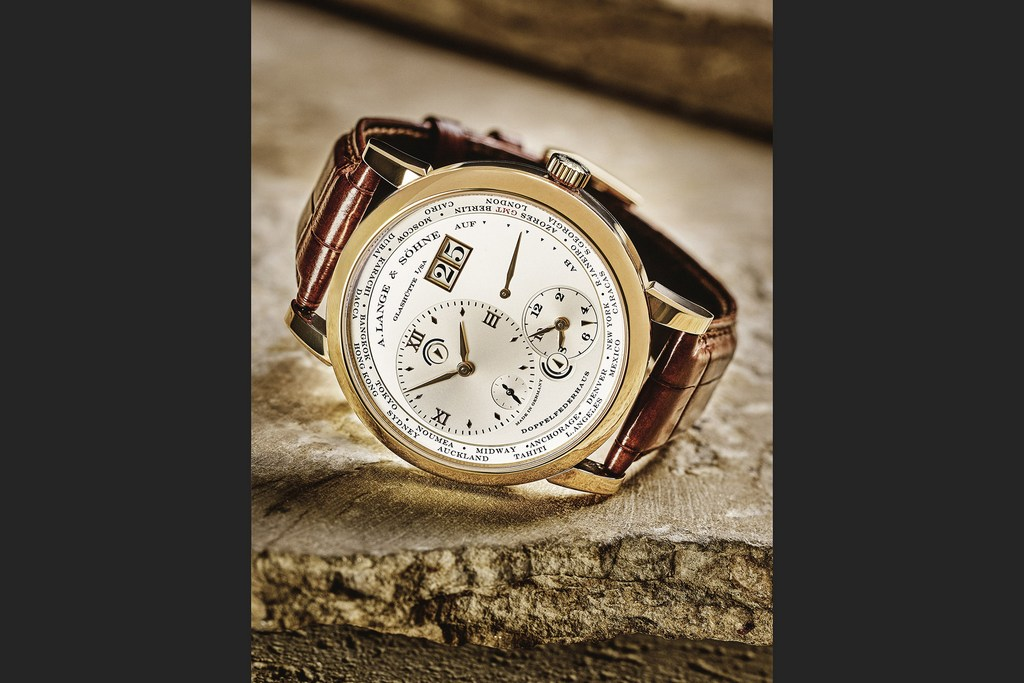 The Lange 1 Time Zone, A. Lange & Söhne's take on the dual-time travel watch