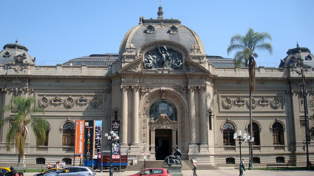 The Museum Nacional de Bellas Artes