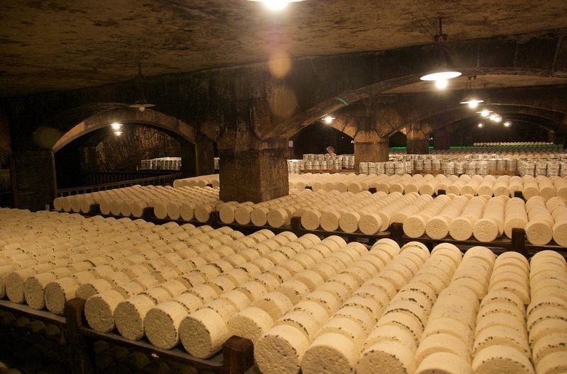 The cheese cave of Roquefort