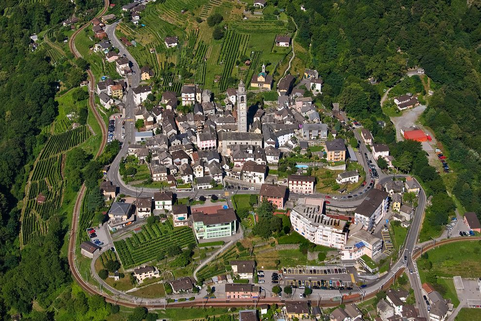 10 Stunning Photos Of Switzerland From Above Living