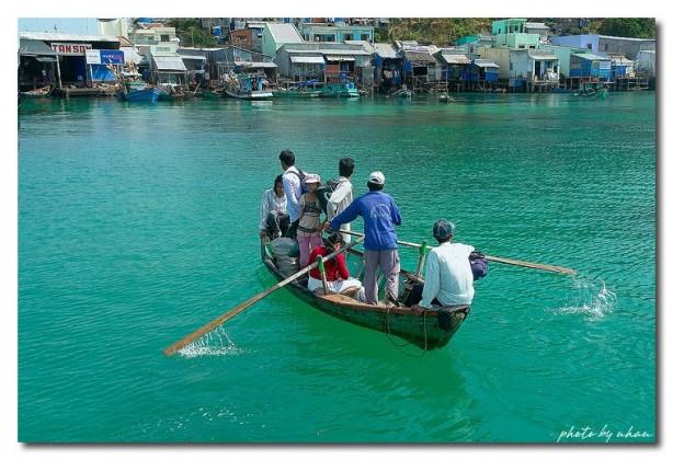 Traveling on Nam Du islands