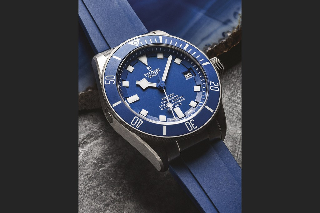 Tudor Pelagos, which is capable of 1500-foot dives
