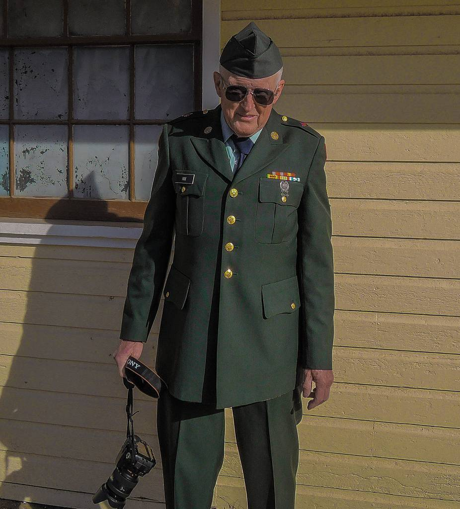 Veterans Day 2014, Fort Ord, CA Back in uniform 45 years later. How time flies. At the 5th Annual Veterans Day celebration sponsored by the Friends of the Fort Ord Warhorse and the City of Marina. This years event was in honor of the veterans of the Vietnam War.