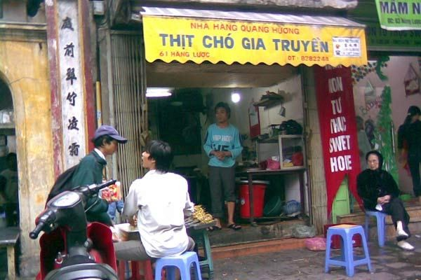 Vietnam Thit cho dog meat