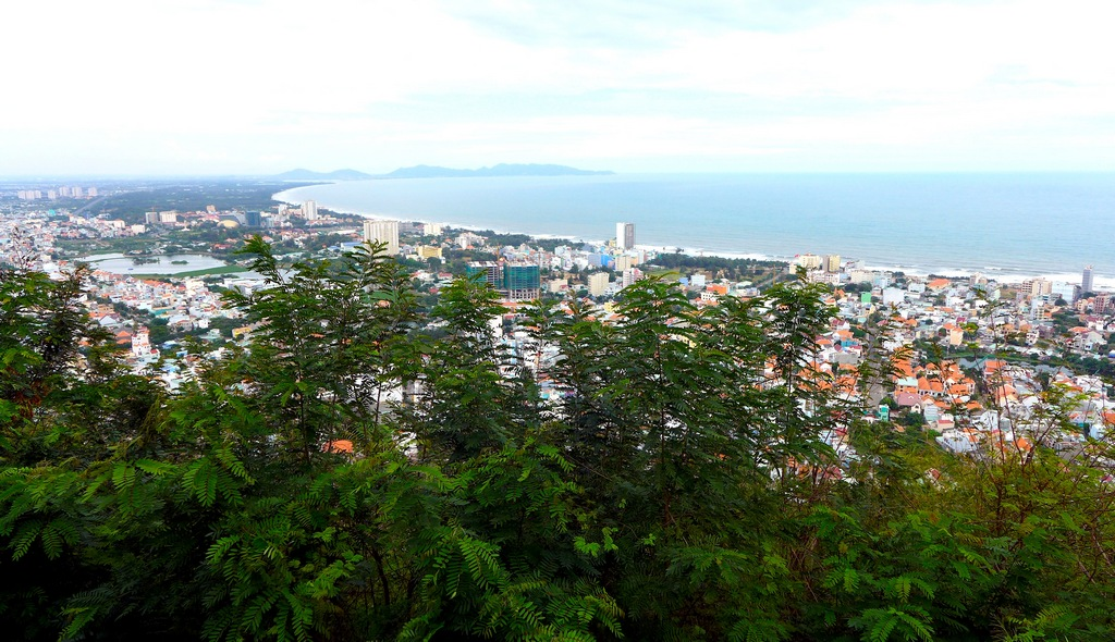 View of Vung Tau from the base of the lighthouse