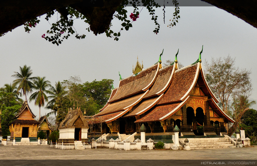 Wat Xieng Thong Temple in Luang Prabang Photo: laostoursism