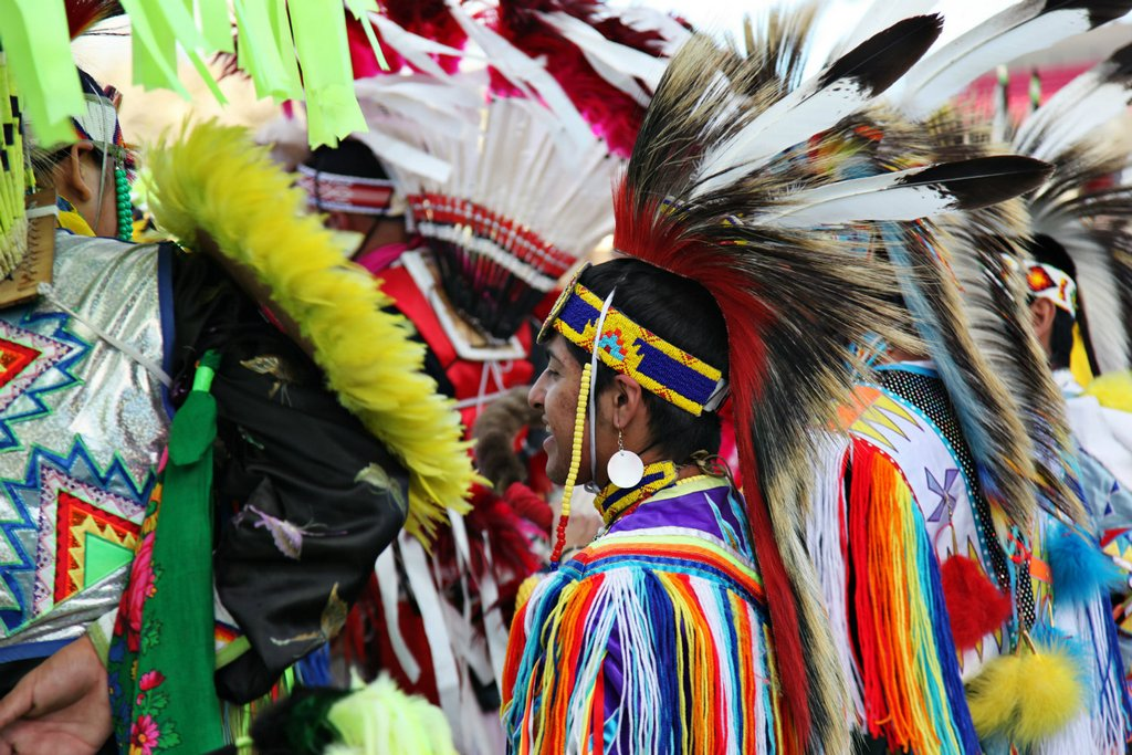 Witness an explosion of colour at the Gathering of Nations, Albuquerque.