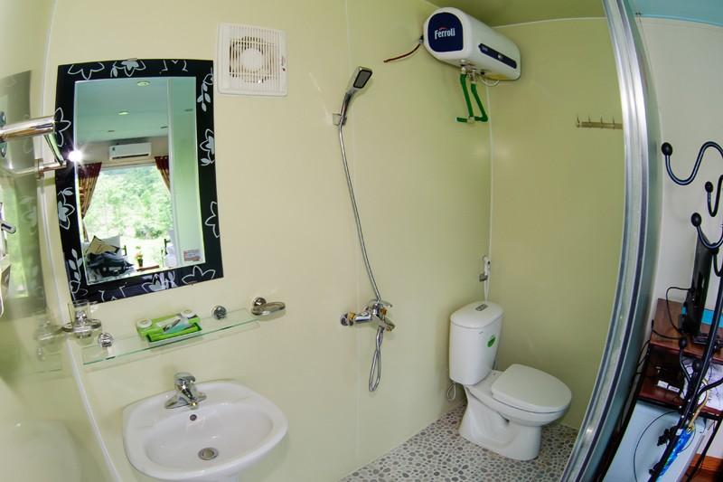 bath space in Moc Chau arena village