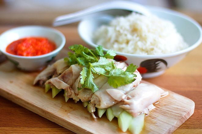 chiken rice singapore foods guide