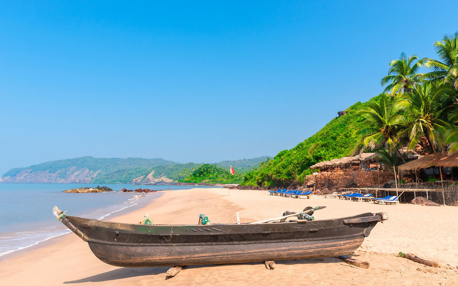 Cola Beach in South Goa, very beautiful beach. Getty Images