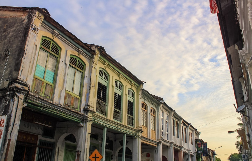 Colonial buildings in George Town. Source:thepoortraveler.