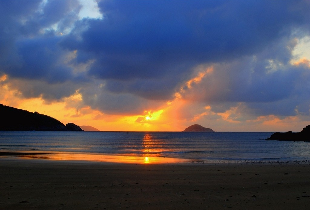 Dam Trau beach, Con Dao. Photo: dulich-condao.net