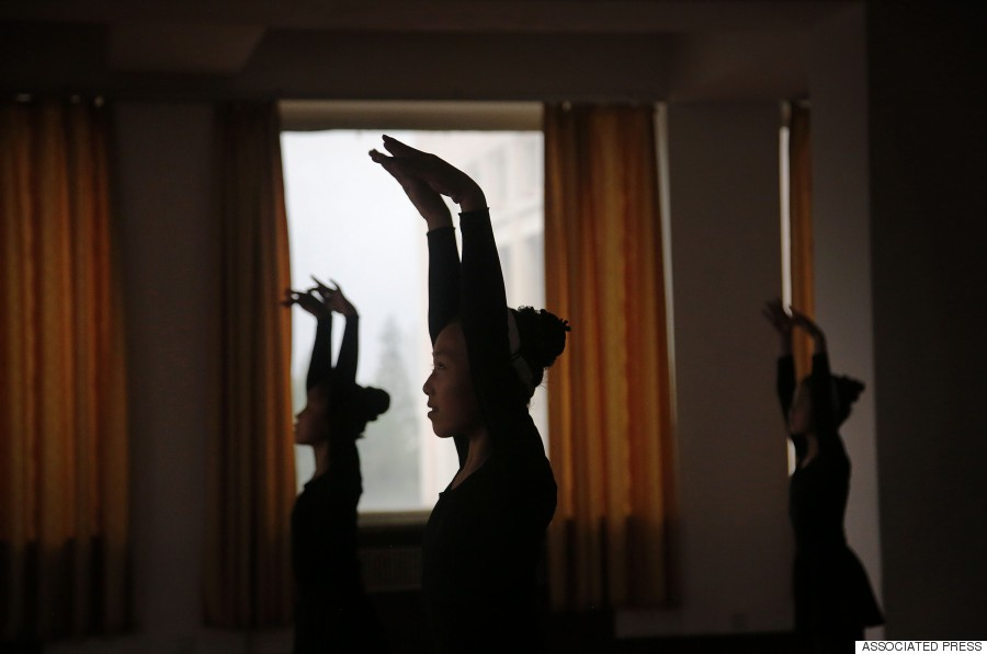 dance class pyong yang
