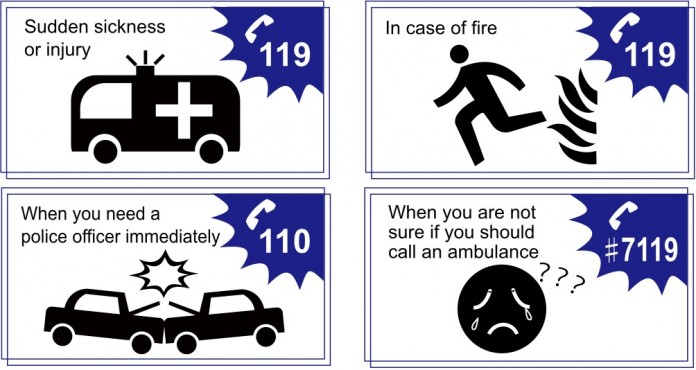 Numbers To Call In Emergency Situations In Japan Living