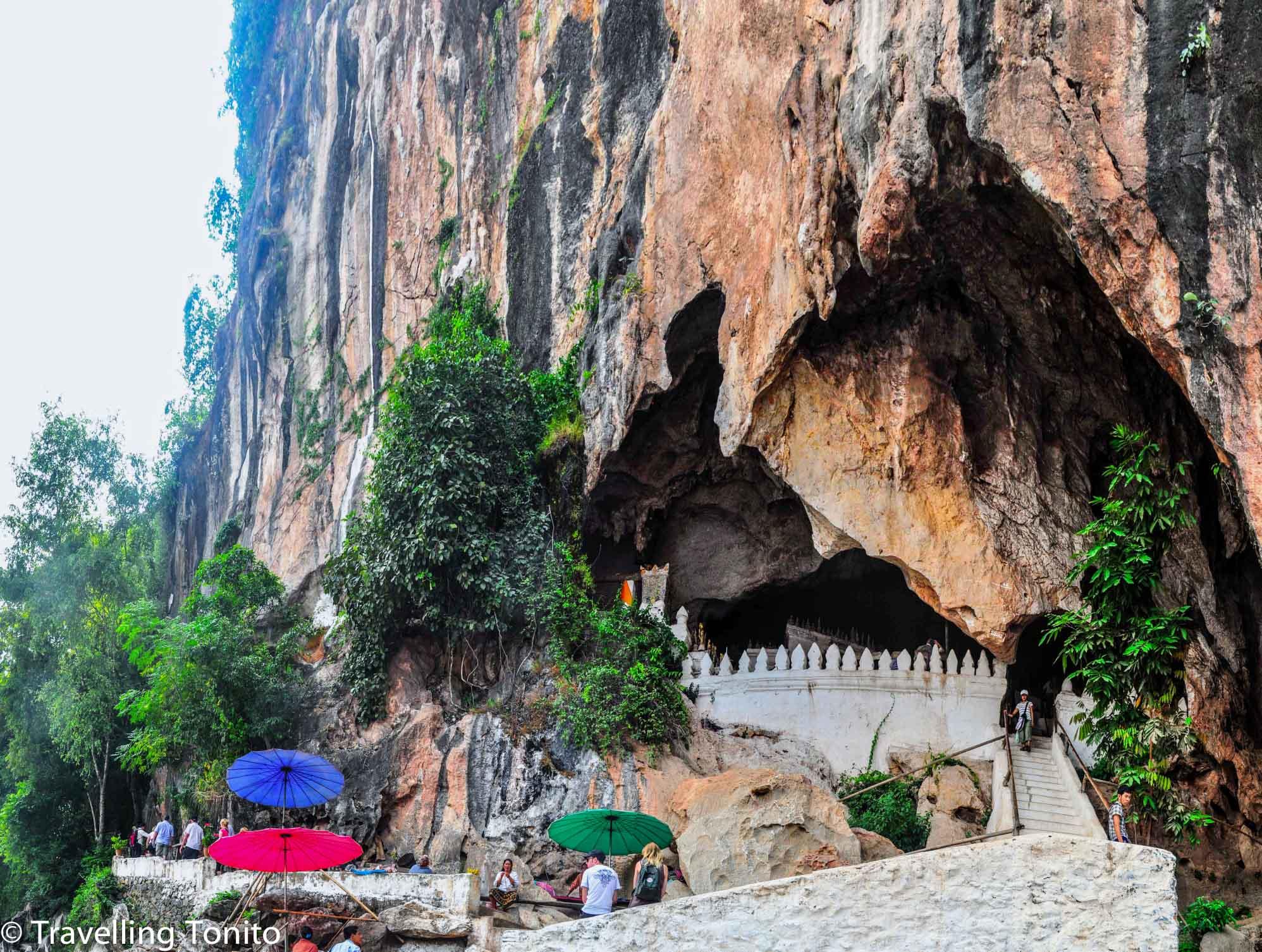 The entrance to Pak Ou