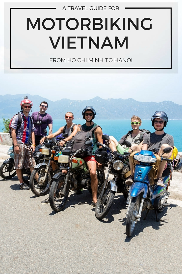 from ho chi minh to ha noi motorbike vietnam