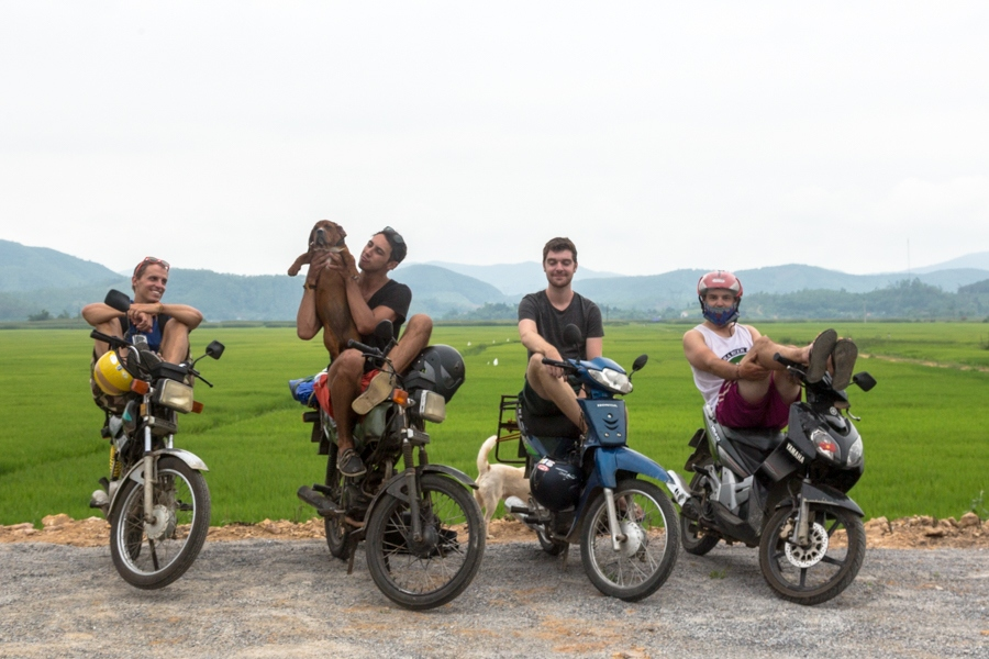 Group shot in Phong Nha