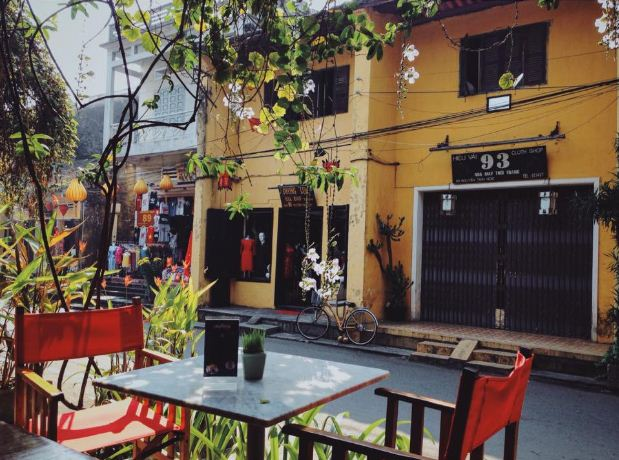 Enjoying the coffee and watching people passing by. Photo: Cao Duong Tam Linh