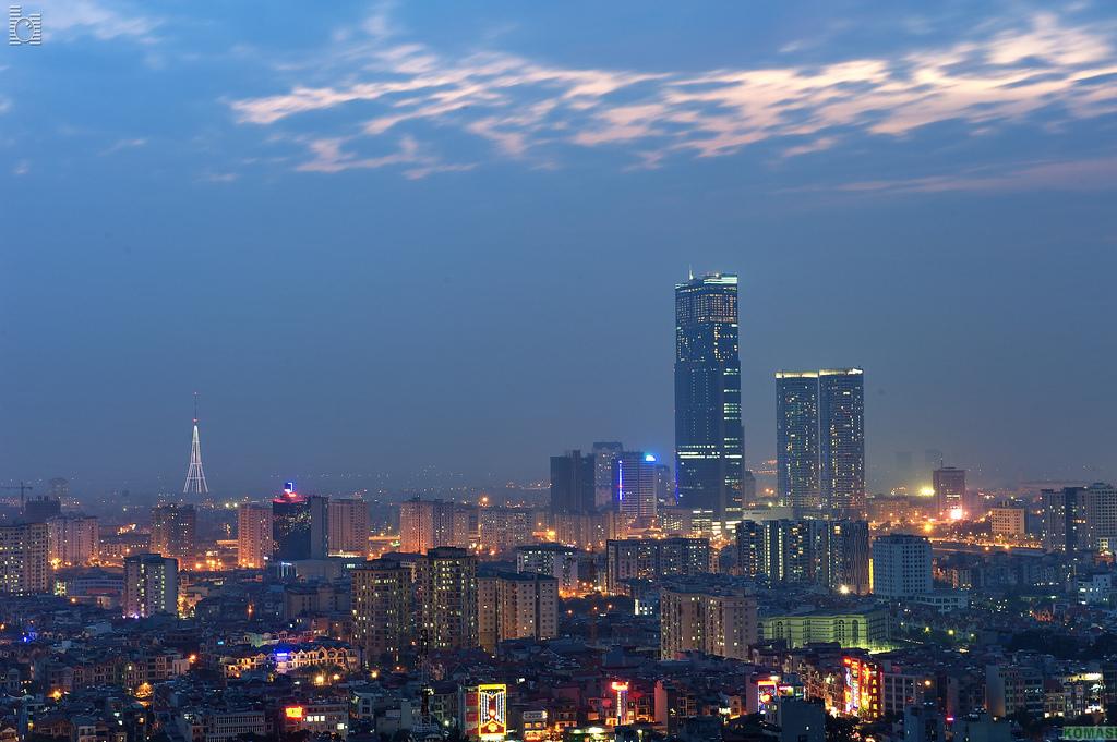Hanoi Skyline City. Image flickr