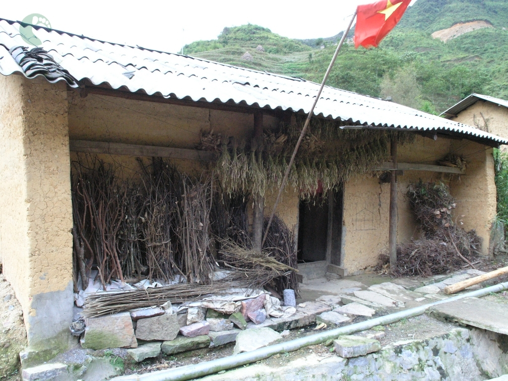 A house of ethnic people