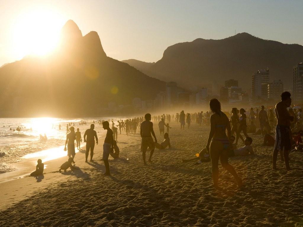 ipanema each rio de janeiro brazil