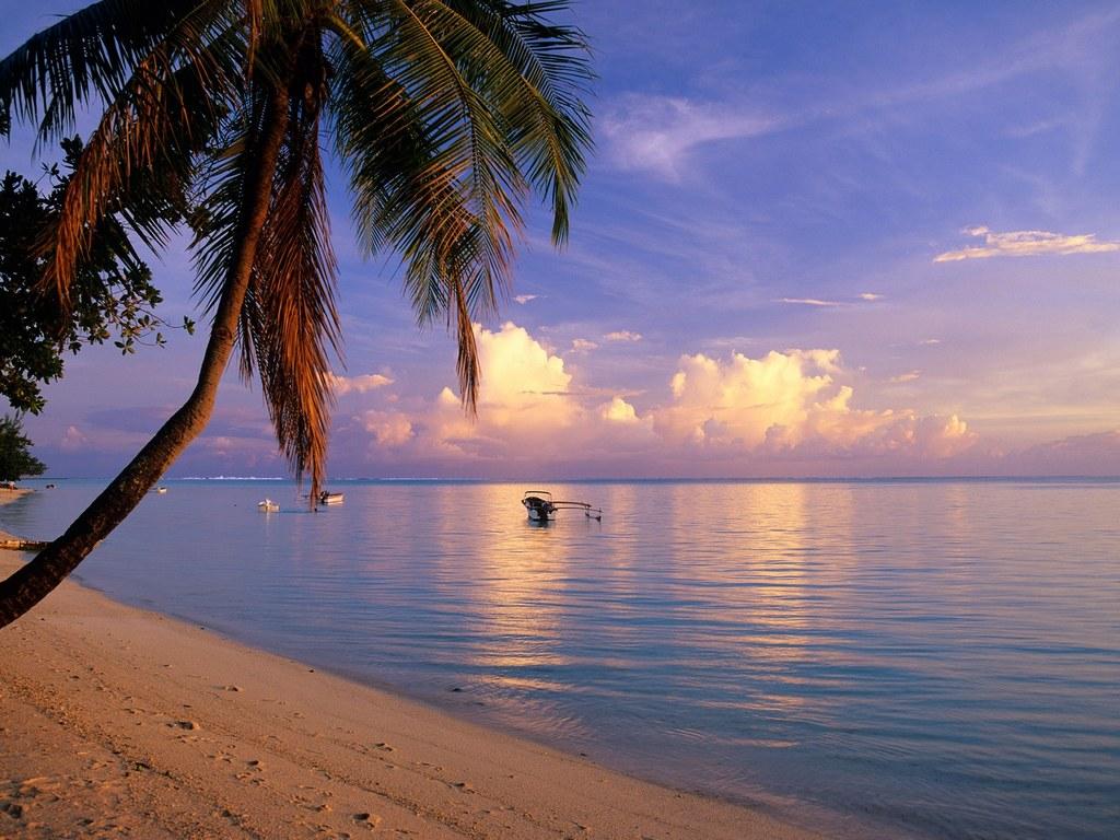 matira beach bora bora french polynesia