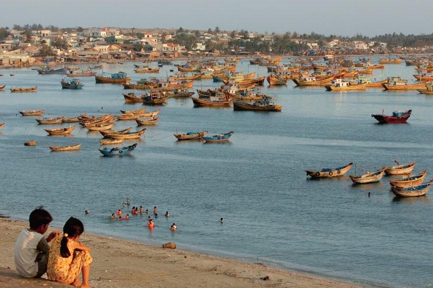 Peaceful fishing village Mui Ne-Phan Thiet. Photo: merian.de