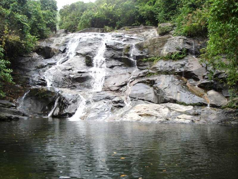 Nhi Ho Waterfall is a attractive tourist destination to visitors, especially young people