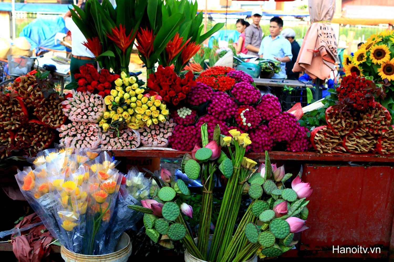 quang ba flowers market hanoi vietnam