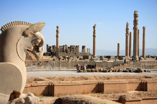 The ruins reminisce about the heyday of Persepolis – Photo: wp