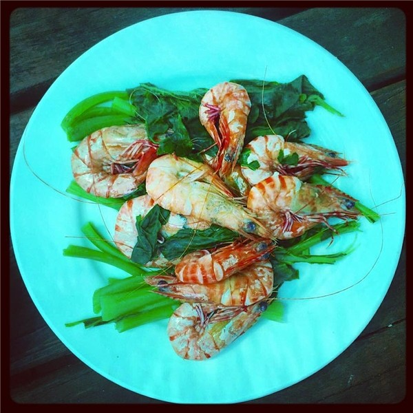 seafood in koh tonsay cambodia travel guides