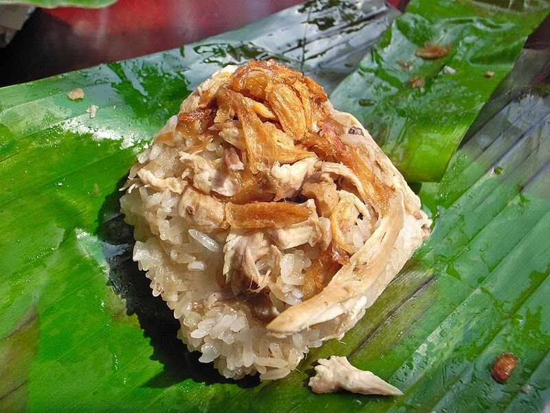 Steamed sticky rice - late-night dishes in Nha Trang