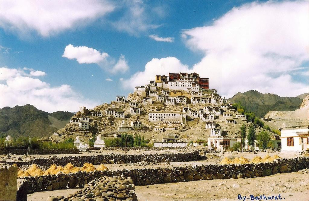 Thiksey monastery, ladakh. Source: the Internet.