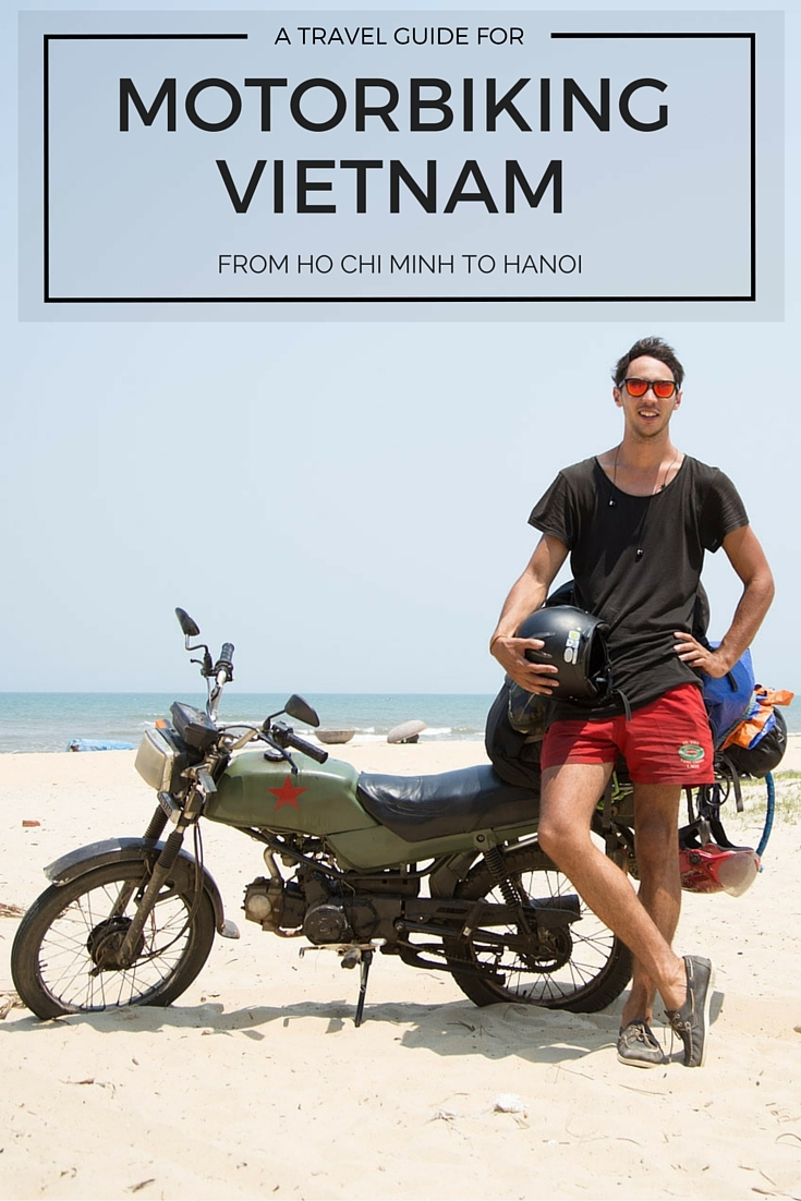 trip from ho chi minh to ha noi motor bike vietnam