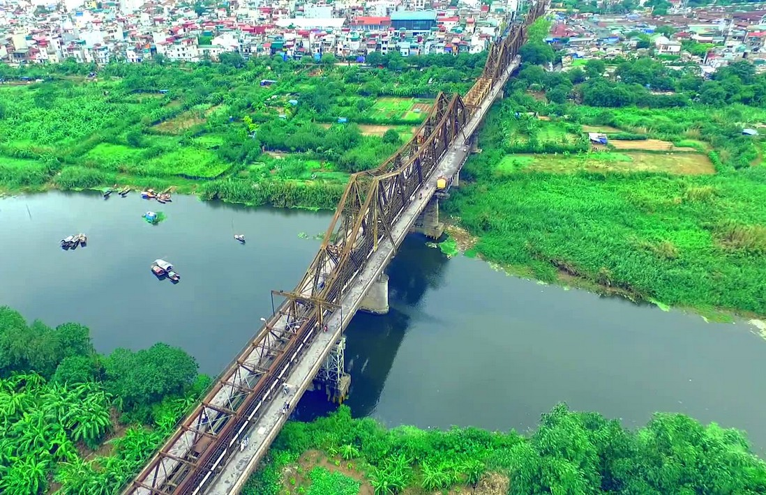view above long-bien-bridge-hanoi vietnam guide maps hanoi tourist attractions  hanoi tourist information top things to do in hanoi tours v - Living +  Nomads – Travel tips, Guides, News & Information!