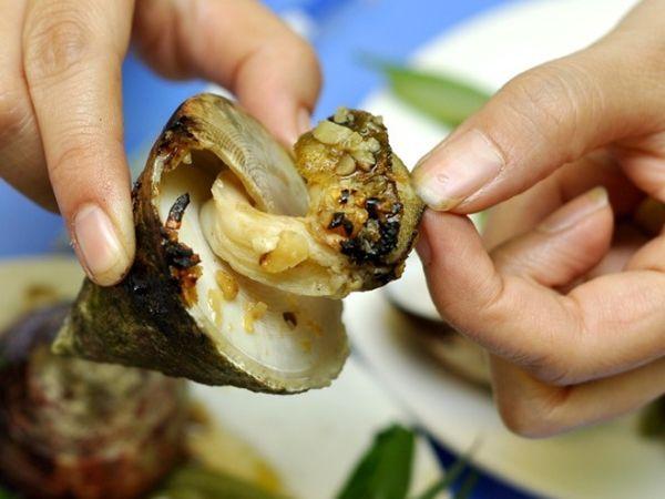 'Vu nang' snail. Photo: Ms. Yen