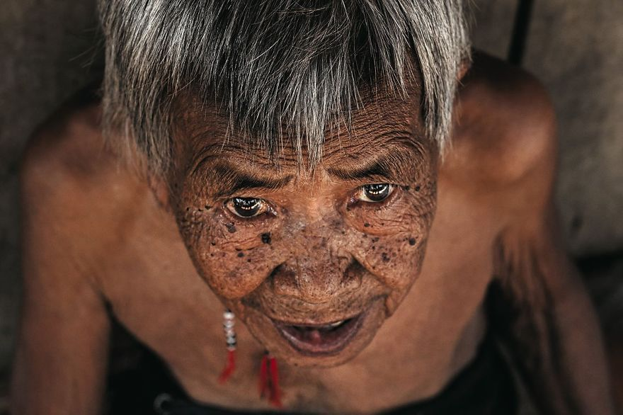 101-Year-Old Woman From Co Tu Ethnic