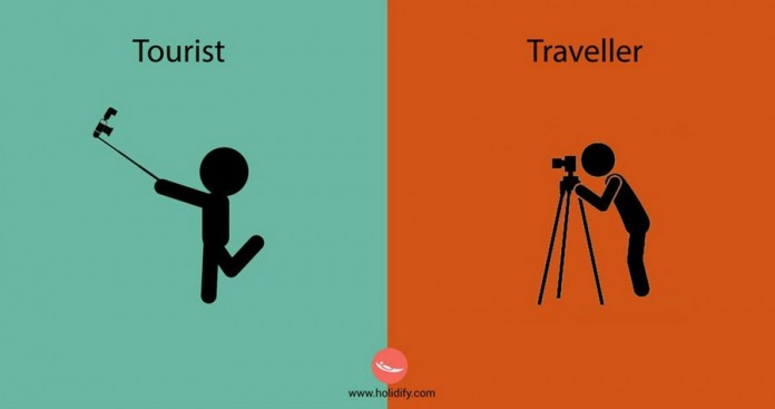 Differences Between Tourists And Travellers