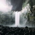 16 stunning photos of epic landscapes with one solitary person gazing at the view